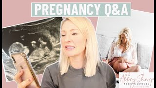 DIETITIAN PREGNANCY Q&A: How Do I Feel About Pregnancy WEIGHT GAIN?? BOY vs GIRL?!? Food Cravings??