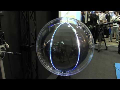 Panorama Ball Vision, a spherical display : DigInfo [HD]
