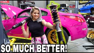 BC RACING COILOVERS FOR THE BARBIE 350Z!