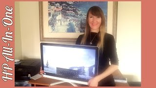 Unboxing My New HP All-In-One PC With Review