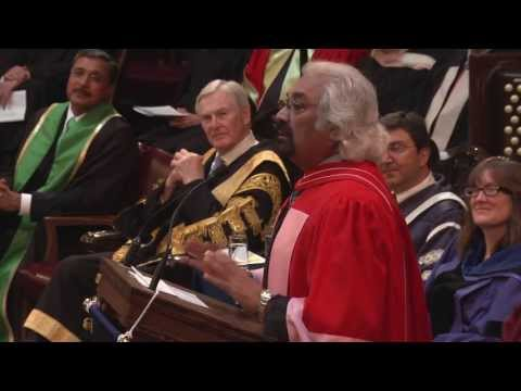 University of Toronto: Sam Pitroda, Convocation 2013 Honorary Degree recipient