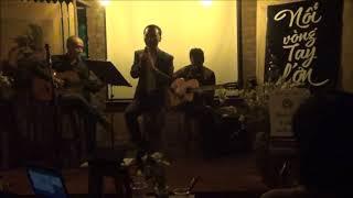 CHO ĐỜI CHÚT ƠN (Trịnh Công Sơn) - Đình Khoa & guitarist Trịnh Sơn Truyền tại 90's Cafe