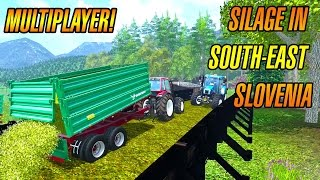 Silage in UTH map south-east Slovenia - Multiplayer