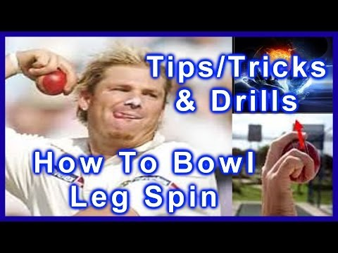 Hd Cricket Leg Spin Bowling Tips Video - How To Bowl Leg Spin Like Shane Warne Step By Step video