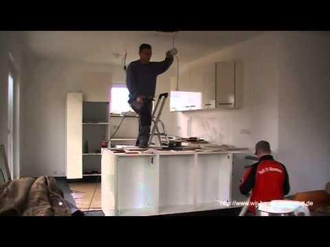 Aufbau Unserer Küche Im Zeitraffer