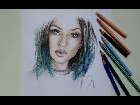 Drawing Kylie Jenner