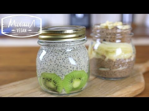 ГОТОВИМ ЧИА ПУДИНГ   семена чиа   (постный рецепт)
