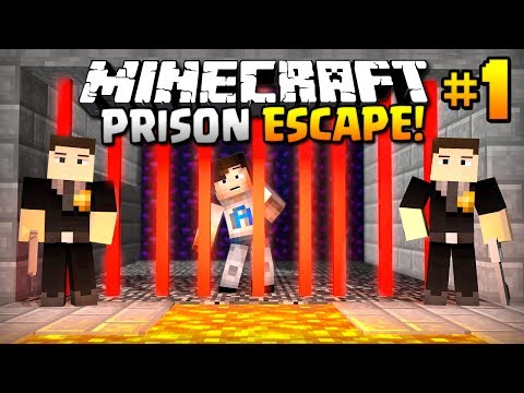 HELP - I'VE BEEN ARRESTED...! - (Minecraft Prison Escape #1)