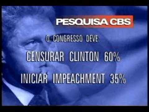 A Opinião Pública e Clinton no Júri de Instrução - CBS Br