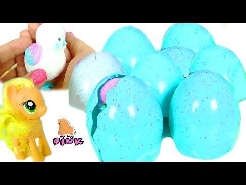 #Яйца с Сюрпризом! Surprise Eggs Май Литл Пони Мультик. Цыплята на Ферме Эпплджек!  Видео для Детей