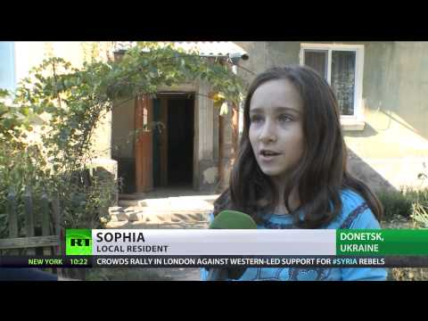 Children's Limbo: Over 300 schools destroyed in E.Ukraine