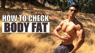 How to Check BODY FAT Percentage | Demo by Guru Mann