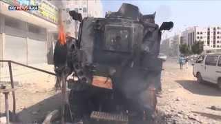 اشتعال المعارك في مدينة عدن