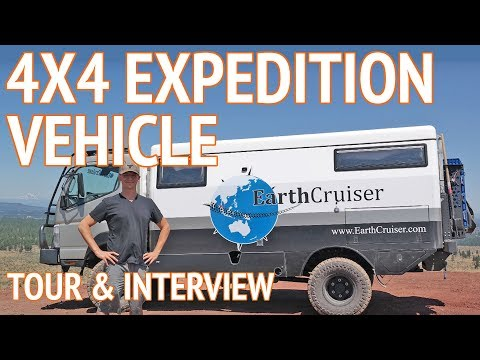 Ultimate Off Road Camper | 4x4 Expedition Vehicle by EarthCruiser