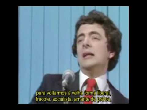 Rowan Atkinson - Conservative Conference (Comcio de Conservadores) Legendado em Portugus, NTNON