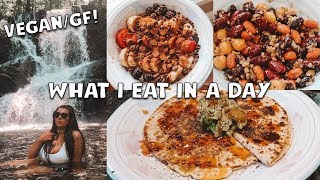 WHAT I EAT IN A DAY | VEGAN/GLUTEN FREE