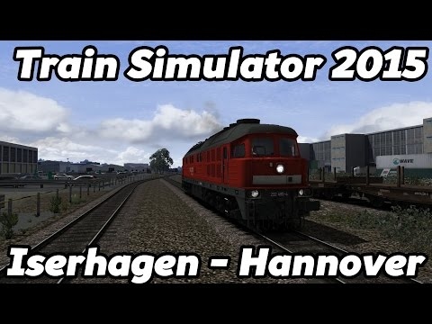Train Simulator 2015: Iserhagen - Hannover with BR 232 'Ludmilla'! [HD]