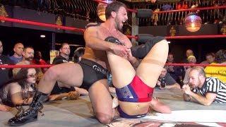 [Free Match] Drew Gulak vs. Kimber Lee (Abbey Laith)   Beyond Wrestling #Unbreakable (Intergender)