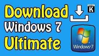 Windows 7 Official Ultimate ISO Downloading Method   Free Latest Version  2019   Urdu Hindi Tutorial