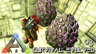 ARK: ABERRATION MODDED - HATCHING LVL400 ROCK DRAKE EGGS !!! E03 ( GAMEPLAY ARK: SURVIVAL EVOLVED )
