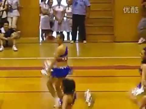 Chinese Male Cheerleader Brings it On!