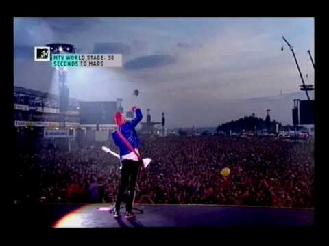 30 Seconds to Mars-A beautiful lie live at Rock am Ring 2010