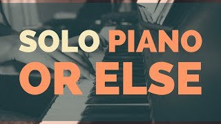 Is Solo Piano The Most Challenging Form of Improvisation