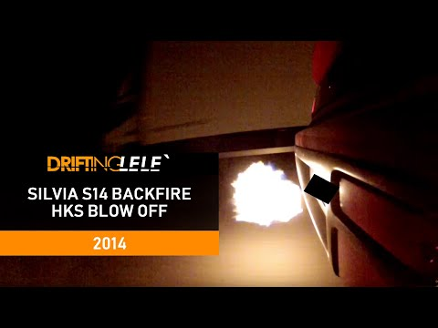 DriftingLele - Backfire - Nissan 200sx s14a - sr20det - HKS Blow off