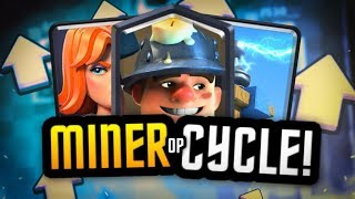 2 FAST MINER CYCLE DECKS that DESTROY! VALKYRIE OP!