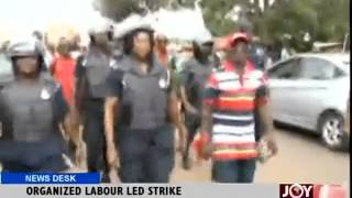 Organized Labour Led Strike - News Desk (22-7-14)
