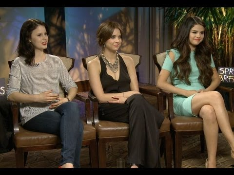 Spring Breakers -  Selena Gomez. Ashley Benson & Rachel Korine Interview