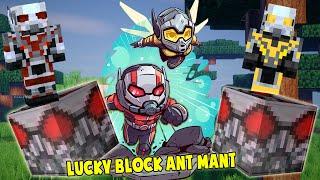 THỬ THÁCH TÌM SET ĐỒ VIP NHẤT CỦA NGƯỜI KIẾN TRONG MINECRAFT ** LUCKY BLOCK ANT MAN