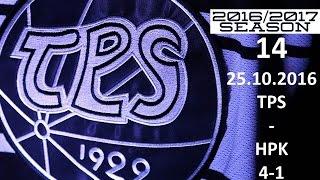 14. TPS - HPK 2016-2017 25.10.2016 MAALIT