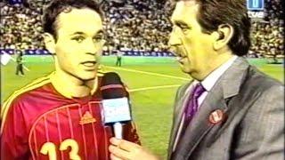 España 0 - Rusia 0. Debut de Andrés Iniesta.