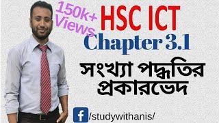 HSC ICT-L3.1 Types of Number System (সংখ্যা পদ্ধতির প্রকারভেদ)