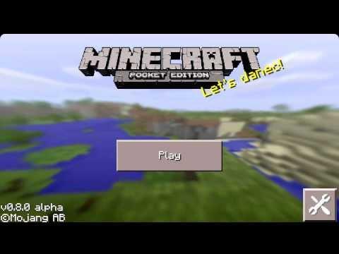 Minecraft Pocket Edition 0.8.0/0.8.1 обзор обновления/review [rus] Android HD