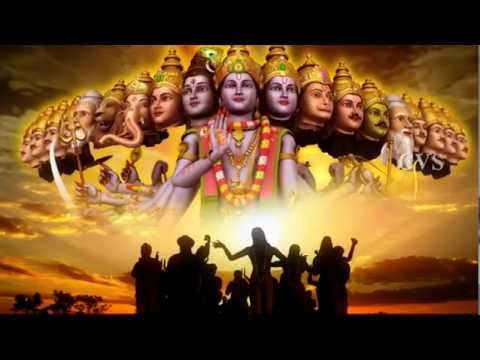 Hare Rama Hare Krishna God Songs 2 -  3d Animation Video Hare Krishna Hare Rama Bhajan Songs video