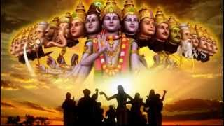 Hare Rama Hare Krishna god songs 2 -  3D Animation Video hare Krishna hare Rama bhajan songs