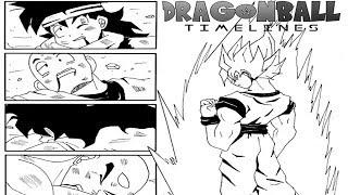 Fan Manga: What if Goku went Super Saiyan in the Saiyan Saga! Dragon Ball timelines!