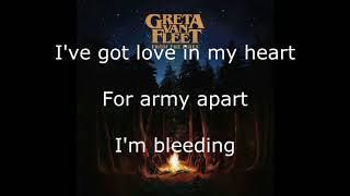 Greta Van Fleet - Edge of Darkness - Lyrics