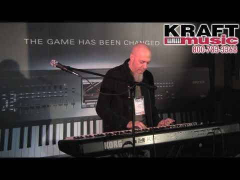 Kraft Music - Korg Kronos Demo with Jordan Rudess NAMM 2011 HIGH QUALI...
