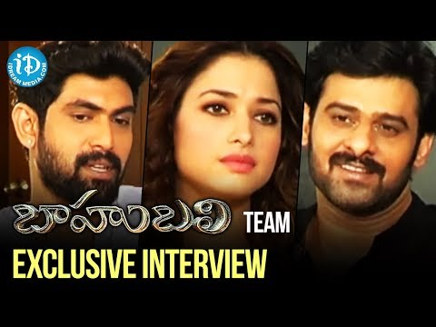 Baahubali Team Exclusive Interview | Prabhas, Rana, Tamannaa