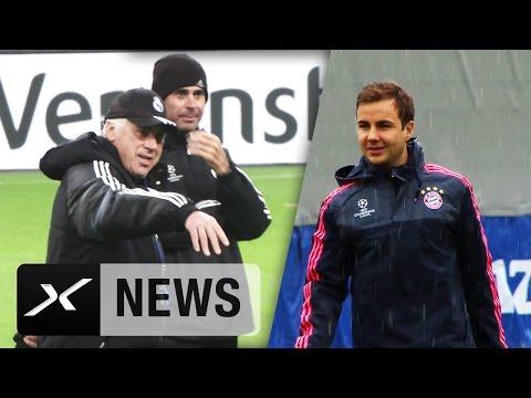 Medien: Carlo Ancelotti rät Mario Götze zu Wechsel | FC Bayern München