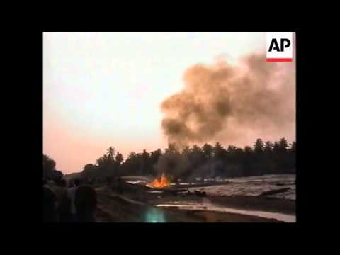 NIGERIA: OIL PIPELINE LEAK: DEATHS LATEST (V)