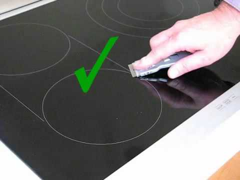 How To Clean Your Electric Or Induction Glass Cooktop Or