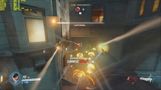 Overwatch R7 360 Gameplay FPS Test