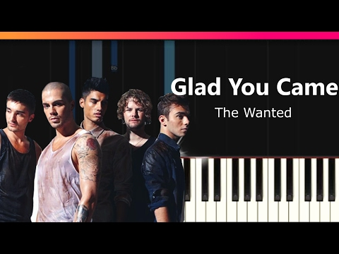 Download Video The Wanted Glad You Came Easy Piano Tutorial