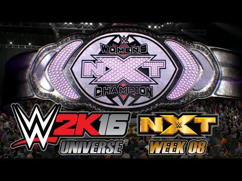 WWE 2K16 - UNIVERSE NXT - Week 08: NXT WOMEN'S TITLE MATCH