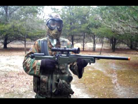 AGM L96 Airsoft Sniper Rifle Review