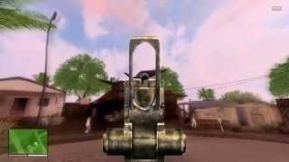 GTA SA : GTA V HUD by DK22Pac in new scope re-texture & [WIP] Death like GTA V [SA] CLEO Mods